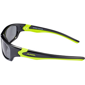 Alpina Flexxy Teen Glasses Youth black-neon yellow